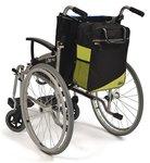 Wheelyscoot rugleuningtas rolstoel groen