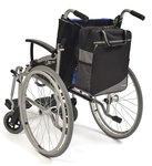 Wheelyscoot rugleuningtas rolstoel grijs
