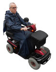 Scootmobiel regencape basis - large