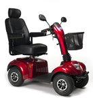 Vermeiren Ceres Special Edition rood - 4 wiel scootmobiel