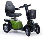 Life & Mobility Mezzo - 4 wiel scootmobiel groen
