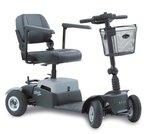 Life & Mobility Vivo - 4 wiel scootmobiel zilver