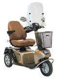 Life & Mobility Solo Elegance - 3 wiel scootmobiel retro_