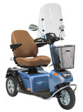 Life & Mobility Solo Blue Diamond - 3 wiel scootmobiel_