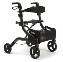 Vermeiren Four Light rollator - Carbon grijs