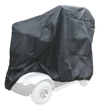 Afdekhoes scootmobiel zwart - Small 105x55x90