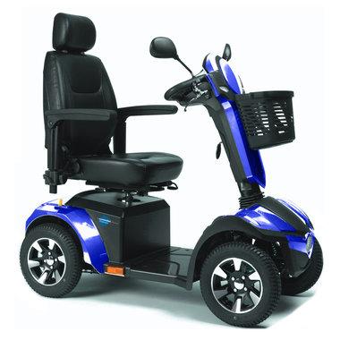 Vermeiren Mercurius Color - 4 wiel scootmobiel blauw -  Laatste modellen!