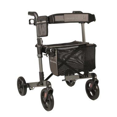WheelzAhead rollator Track 4.0 - zilvergrijs