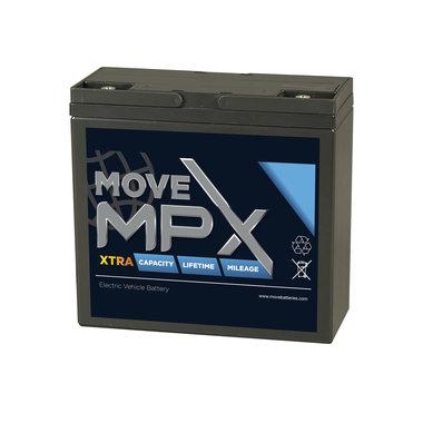 Move accu MPX 20 | 12 volt - 26,4 Ah