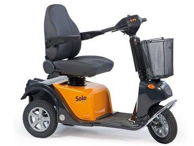 Life & Mobility Solo - 3 wiel scootmobiel oranje