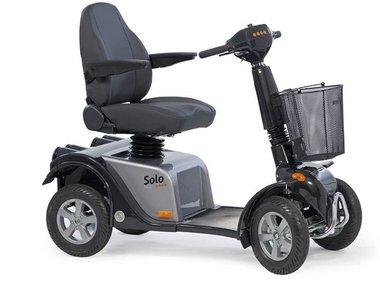 Life & Mobility Solo - 4 wiel scootmobiel grijs