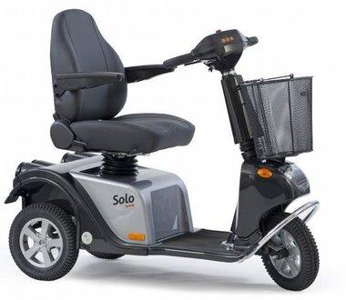 Life & Mobility Solo - 3 wiel scootmobiel grijs