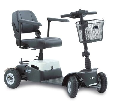 Life & Mobility Vivo - 4 wiel scootmobiel Roomwit