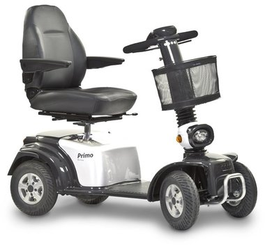 Life & Mobility Primo Arrivo - 4 wiel scootmobiel wit