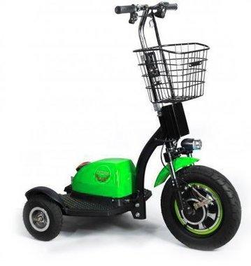 Briski groen scooter 2017