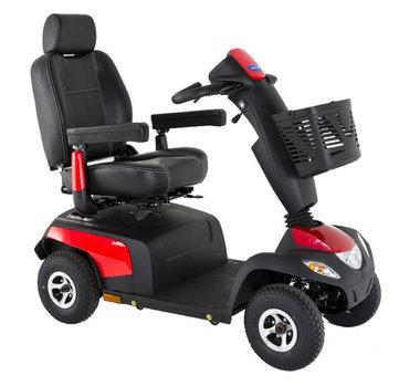 Invacare Orion Pro rood - 4 wiel  scootmobiel