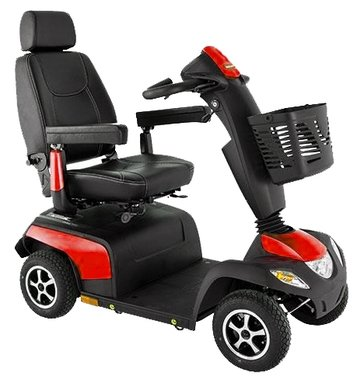 Invacare Orion Metro Carmine Red - 4 wiel scootmobiel