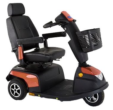 Invacare Orion Metro Crystal Copper - 3 wiel scootmobiel