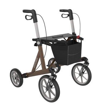 Rehasense rollator Explorer - bruin (max. 200kg)