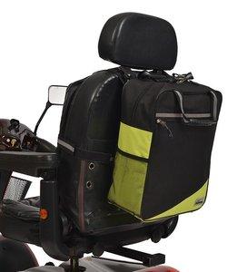 Wheelyscoot rugleuningtas scootmobiel groen