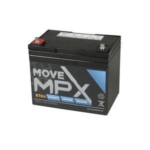 Scootmobiel accu Move MPX 34   12 volt - 40 Ah